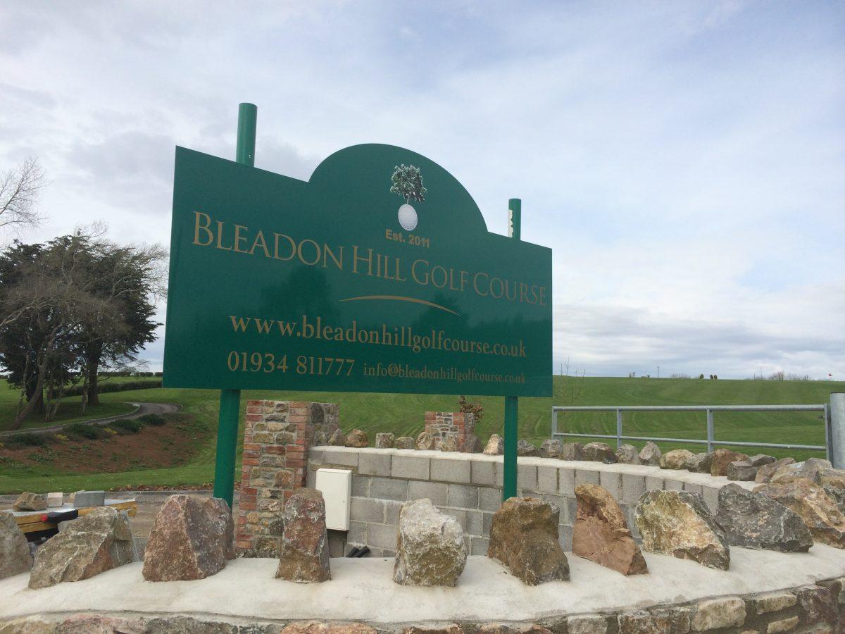 Bleadon Hill Golf Course Future Signs Weston Super Mare
