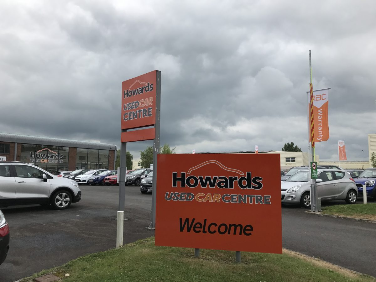 Howards Used Car Centre Future Signs Weston Super Mare