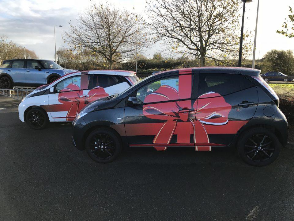 Festive Vehicle Wraps Future Signs Weston Super Mare