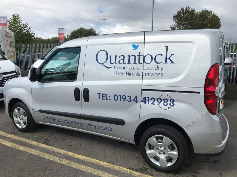 Quantock Commercial Laundry Future Signs Weston Super Mare