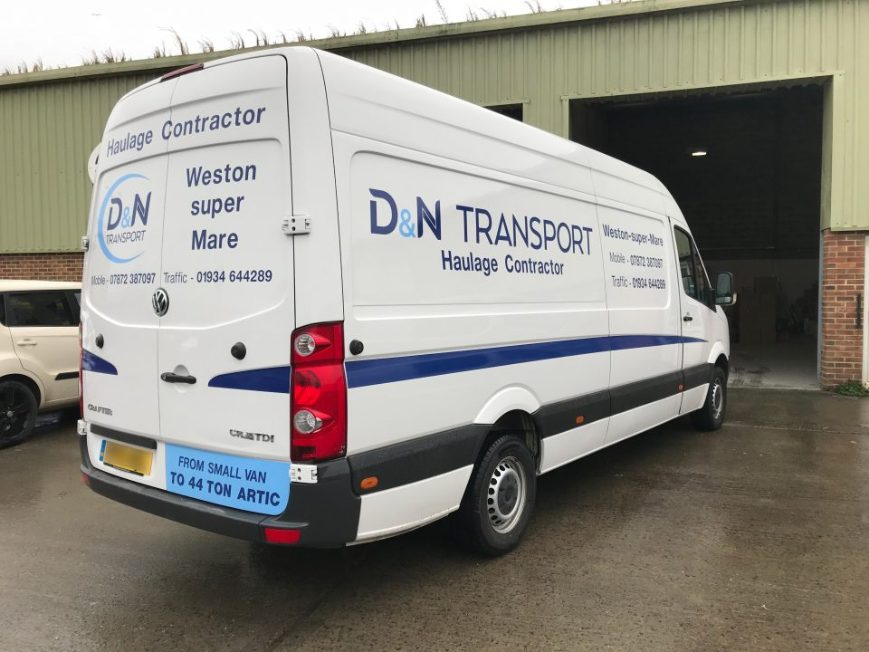 D Amp N Transport Van Future Signs Weston Super Mare