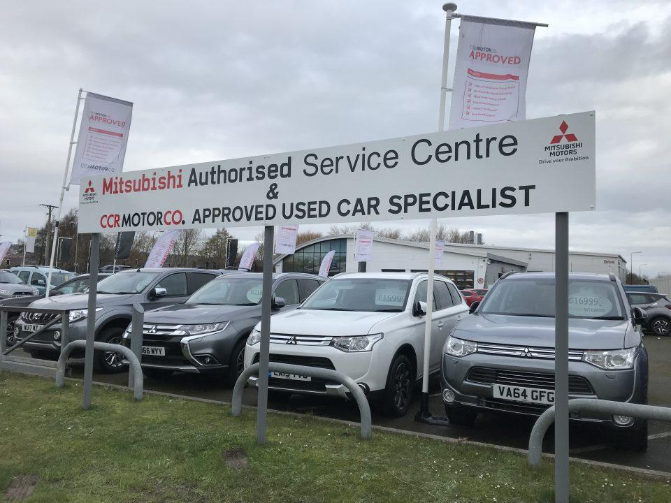 Mitsubishi Commercial Sign Future Signs Weston Super Mare