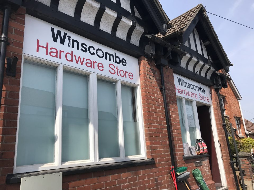 Winscombe Hardware Shop Front Signage Future Signs