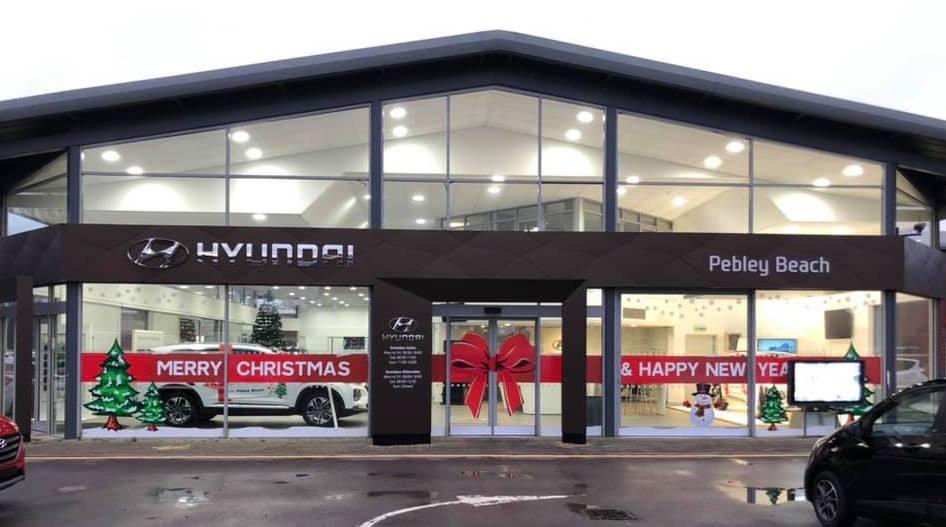 Hyundai Pebley Beach Swindon Commerical Signage Future